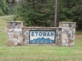Etowah Ridge Sign